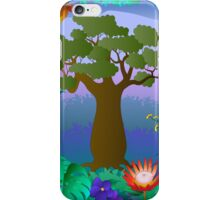 baobab tree iPhone Case/Skin