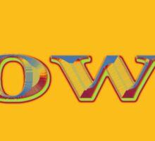 Colorful Iowa State Pride Map  Sticker