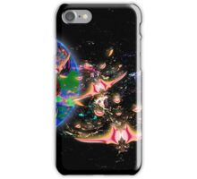 Galactic Cruisers and Escorts Leaving Planet Shypsoaria iPhone Case/Skin