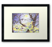 Moon Children  Framed Print