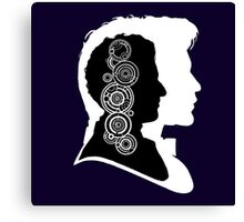 Doctor Who Portraits Canvas Print