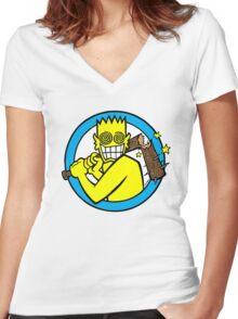 Allroy Women's Fitted V-Neck T-Shirt