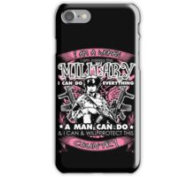 MILITARY WOMAN iPhone Case/Skin