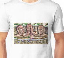 Three Men in a Tub Unisex T-Shirt