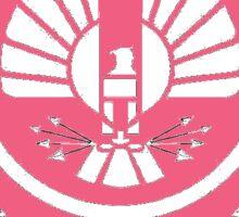 Pink Capitol Sticker