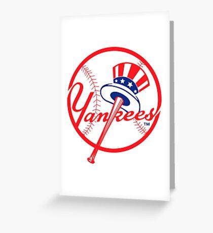 NY Yankees Greeting Card