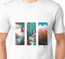 watercolor landscapes Unisex T-Shirt