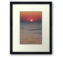 Ocean City Sunrise Framed Print