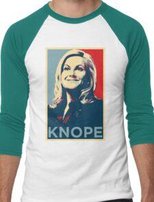 Knope Men's Baseball ¾ T-Shirt
