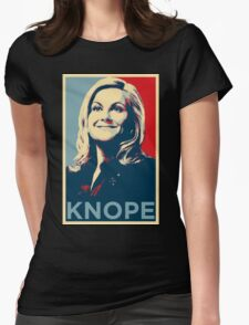 Knope Womens Fitted T-Shirt