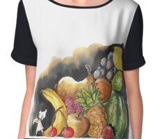 Fruits Salad Chiffon Top