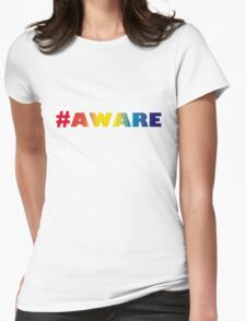 #AWARE Womens Fitted T-Shirt