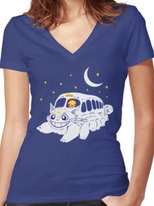 Sailor Vehicle Women's Fitted V-Neck T-Shirt