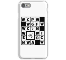 Wrestling All-In T-Shirt iPhone Case/Skin
