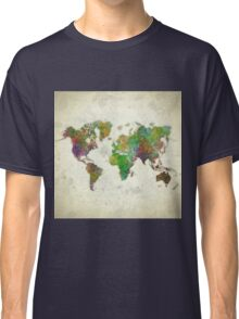 World Map Color Classic T-Shirt