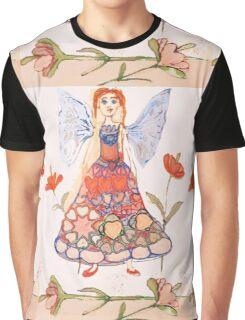Flower Fairy  Graphic T-Shirt