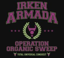 Irken Armada: Color Option Baby Tee