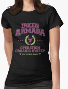 Irken Armada: Color Option Womens Fitted T-Shirt