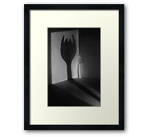 The Evil Son Framed Print