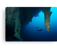 Blue Hole Belize Canvas Print