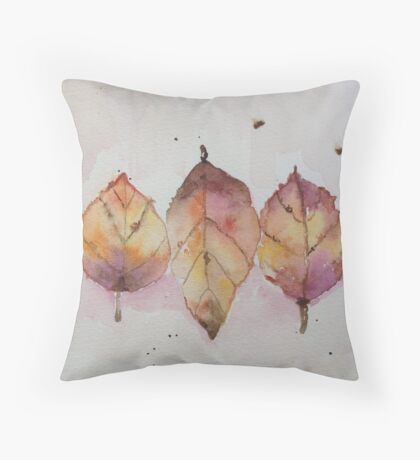 Bring Colour Throw Pillow
