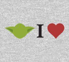 Yoda I Love Kids Tee