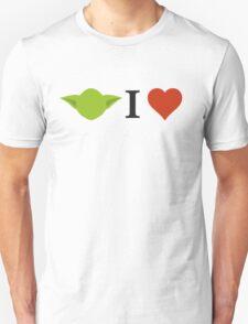 Yoda I Love Unisex T-Shirt
