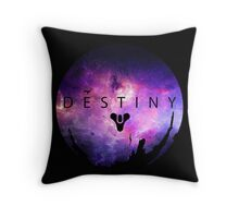 Destiny - Galaxy Logo by AronGilli Throw Pillow