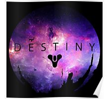 Destiny - Galaxy Logo by AronGilli Poster
