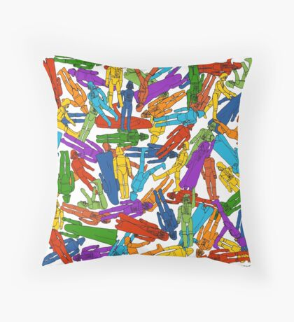 No Dearth Of... Throw Pillow