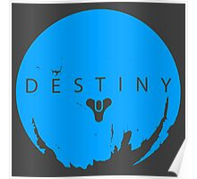 Destiny - Skyblue Logo by AronGilli Poster