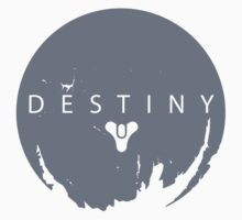 Destiny - Grey Logo by AronGilli Kids Clothes