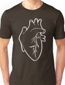 Be Still My Heart in White Unisex T-Shirt