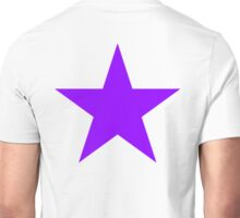PURPLE, Star, Royalty, Royal, Bright Star, Special, Super nova, Stellar, Achievement, Cool, Unisex T-Shirt