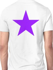 PURPLE, Star, Royalty, Royal, Bright Star, Special, Super nova, Stellar, Achievement, Cool, Unisex T-Shirt