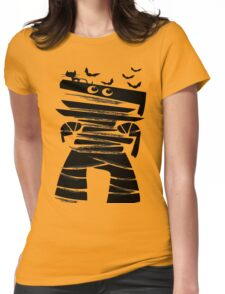Little Halloween mummy Womens Fitted T-Shirt