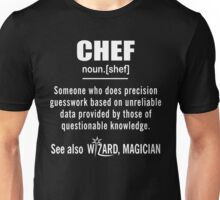Chef Gifts - Chef Definition Shirt - Funny Chef Meaning Shirt Unisex T-Shirt