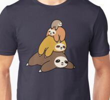 Sloth Stack Unisex T-Shirt
