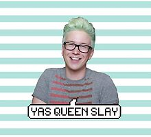 Tyler Oakley: Yas Queen Slay by Neysa Tapanes