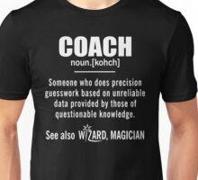 Coach Gifts - Coach Definition Shirt - Funny Coach Meaning Shirt Unisex T-Shirt