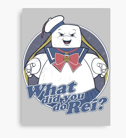 What did you do Rei? Canvas Print