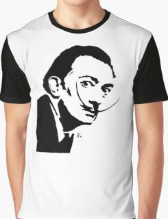Peekaboo Mr Dali Graphic T-Shirt