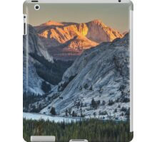 Golden Mountain Sunset Over Yosemite, Ca iPad Case/Skin