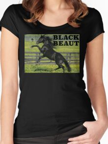 Black Beaut Women's Fitted Scoop T-Shirt