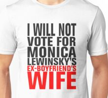 Will you vote for Her? Unisex T-Shirt