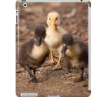 Cute Yellow Duckling iPad Case/Skin
