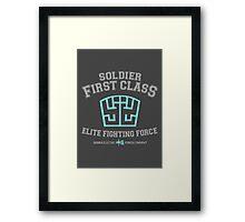 Soldier First Class Framed Print