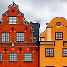 Stockholm. Colorful Houses in Gamla Stan by Igor Shrayer