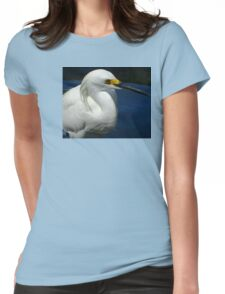Snowy White  Womens Fitted T-Shirt