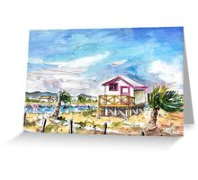 House On Stilts By Gruissan Greeting Card